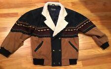 Vtg Mens TUSKANY Southwestern Rancher Guide Field Jacket Italy Medium