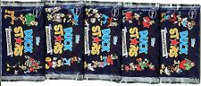 BOOSTER 5 Cartes KARTEN DUCK STARS MICKEY DONALD GOOFY PICSOU etc... DISNEY