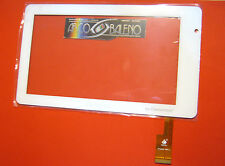 TOUCH SCREEN VETRO TPS127-7 PER CLEMENTONI Clempad 13645 TPC0069 DISPLAY RICAMBI