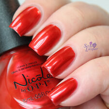 NEW! Nicole By OPI nail polish lacquer ALWAYS A COCA-COLA CLASSIC - RED