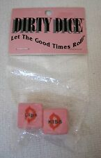 Dirty Dice Game MIP Let The Good Times Roll Naughty Sex Game! T35