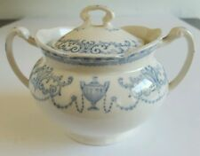 Vintage W.H. Grindley Minerva Small Tureen with Cover/Lid Serving Bowl