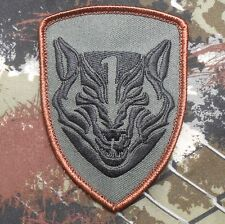 MEDAL OF HONOR TIER1 NAVY WOLFPACK WOLF FOREST VELCRO® BRAND FASTENER PATCH