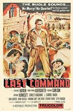 THE LAST COMMAND Movie POSTER 27x40 Sterling Hayden Richard Carlson Ernest