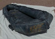 RARE! USN USMC Fighter & Attack Aircraft Pilot's One Man Life Raft LR-1
