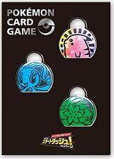 Pokemon card game coin set 2016 Start Dash - Pikachu, Manaphy, Shaymin