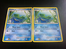 2 x Pokemon Card  - Lotad - 92/132 DP Secret Wonders
