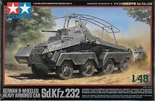 1/48 Tamiya 32574 - WWII German 8-Wheeled Sd.Kfz.232 - Heavy Armored Car Kit