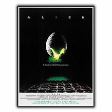 ALIEN 1979 METAL SIGN PLAQUE Retro Film Movie Advert poster print decor