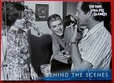 DAVID BOWIE - The Man Who Fell To Earth - Card #47 - Behind The Scenes