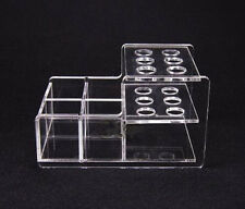 NEW Dental Adhesive Resin Syringe Acrylic Organizer Holder Case