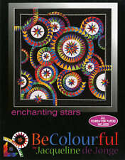 ENCHANTING STARS QUILT PATTERN, Foundation Paper Piecing By Becolourful NEW
