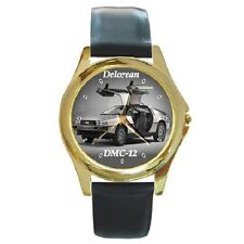 DELOREAN DMC-12 CLASSIC POSTER WRISTWATCH **SUPERB GIFT ITEM***