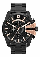 NEW DIESEL DZ4309 MENS MEGA CHIEF CHRONOGRAPH WATCH - 2 YEAR WARRANTY