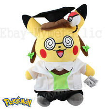 "Pokemon Cosplay Pikachu Ph. D Clothes Changing 30cm / 12"" Soft Plush Doll Toy"