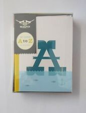 PACK OF 26 A TO Z ALL 26 LETTERS COLOURFUL ANY OCCASION BLANK GREETING CARDS