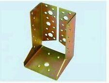 STAFFA SCARPA SUPPORTO PER TRAVI LEGNO 101x140 acciaio tropicalizzato, dielle