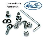 Motion Pro License Plate Fastner Kit Bolts Tags Screw Motorcycle Harley Davidson