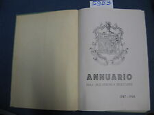ANNUARIO DELL'ACCADEMIA MILTIRARE 1947/1948