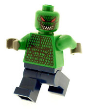 Custom Minifigure Killer Croc (Batman) Printed on LEGO Parts
