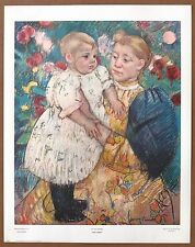 Mary Cassatt In The Garden 1st Prnt Ltd. Ed Orig 1960 Lithograph