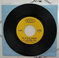 """Sly & The Family Stone Hot Fun In The Summertime 7"""" 45 RPM 5-10497 b/w Fun"""