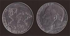 VATICANO 100 LIRE 1985 - GIOVANNI PAOLO II - FDC/UNC FIOR DI CONIO