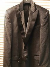 Nwt Cavalli Smoking Mens Jaccket 56 Made In Italy Grey