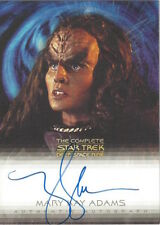 COMPLETE STAR TREK DEEP SPACE NINE DS9 - AUTOGRAPH A6 Mary Kay Adams as Grilka