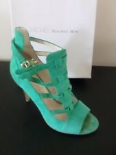 RACHEL ROY - Rfnadia - Green Suede Gladiator Sandals - Size 9.5