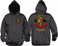 Powell Peralta Steve Caballero DRAGON PULLOVER Skateboard Hoodie CHARCOAL XXL