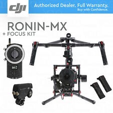 DJI RONIN-MX 3-Axis Handheld Gimbal Stabilizer. 2 Batteries + DJI FOCUS KIT
