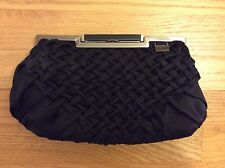 Adolfo Dominguez Black Clutch Bag
