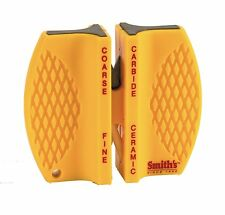 Smith's CCKS 2-Step Knife Sharpener Non-Slip Rubber Feet for Added Safety AOI