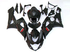 Matte Black Bodywork Injection Fairing Kit For Suzuki GSXR 1000 K5 K6 2005-2006