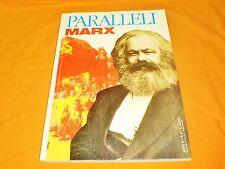 paralleli marx  n.9 anno II  1992 con poster di marx