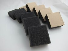 Foam Pack 20mm Thick - Drum Trigger Cushion for DIY (One Adhesive Side)