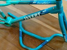 Teal haro invert Survivor old BMX frame set master vintage freestyle bike Gt cw