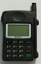 Vintage Sony CM-Z100PRC Cell Phone - Black *Untested & No Accessories