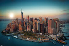 NEW YORK CITY - FREEDOM TOWER POSTER - 24x36 MANHATTAN DAYLIGHT NYC 34018