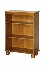 Pine Bookcase / Display Cabinet with 3 Shelves