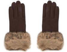Pia Rossini Ladies Mornore Gloves - Black/Wolf - One Size - Box6515 G