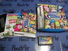 WarioWare, Inc. Mega Microgame Complete w/ box Nintendo GameBoy Advance sp micro