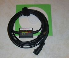 ROMANO/AI AUTOGAS ITALIA/STEFANELLI/EMER LPG GPL DIAGNOSE USB INTERFACE Kabel+SW