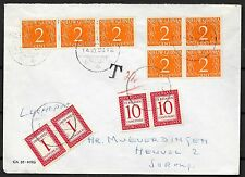 Netherlands New Guinea covers 1958 DUEcover Steenkool to Sorong