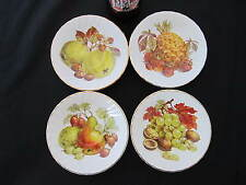 Royal Kendal Fine Bone China Saucer / Pin Dish, Set of Four, Made in England