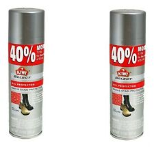(2x) Kiwi All Protector Rain & Stain Spray Cleaner Leather Suede Nubuck 7.7 oz