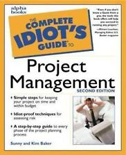 The Complete Idiot's Guide to Project Management,GOOD Book