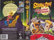 SCOOBY DOO AND THE RELUCTANT WEREWOLF  VHS VIDEO PAL~ A RARE FIND~