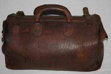 Vintage Doctors Midwife Leather Gladstone Bag - FREE POSTAGE [PL-1386 ]